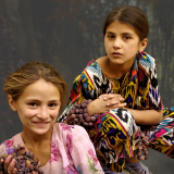 Tajik-Village-Girls-by-Frank-hobbs
