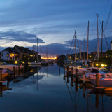 night_time_at_the_marina_by_jackie_sellers