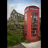 THE-PHONE-BOX-AT-PONT-Y-PANDY-by-Peter-Edge