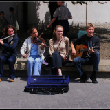 YOUNG-MUSICIANS-IN-CRACOW-by-John-Stubbs