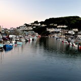LOOE-AT-DUSK-by-Hugh-Stevenson
