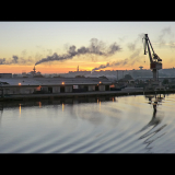 SUNRISE-IN-DOCKLAND-by-Bakewell