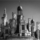 TURRETS-AT-CHAMBORD-by-Frank-Hobbs