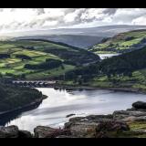 LADYBOWER-FROM-BAMFORD-EDGE-by-Hugh-Stevenson