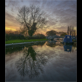 DUSK-ON-THE-TRENT-AND-MERSEY-by-Jackie-Sellers