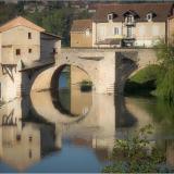 THE-OLD-BRIDGE-AT-MILLAU-by-Frank-Hobbs