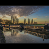 EVENING-LIGHT-ON-THE-CANAL-by-Jackie-Sellers