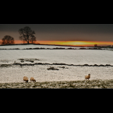 WINTER-SUNSET-OVER-HARTINGTON-by-Peter-Edge