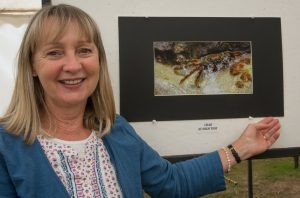 Rosemary Gooch with 4th place image 'Crab'